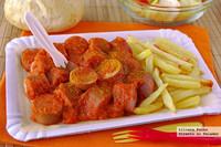 Cómo hacer Currywurst en casa. Receta típica alemana