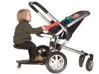 Kid-Sit: asiento para llevar a dos niños en la silla de paseo