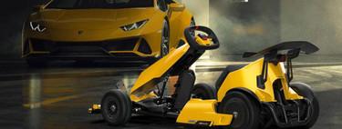 Xiaomi Ninebot GoKart Lamborghini Edition, un kart eléctrico inspirado en Lamborghini y con emulador de sonido de motor
