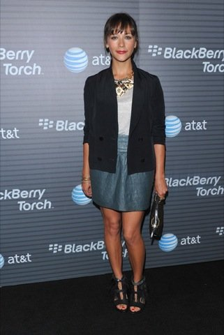 Rashida Jones, blazer famosa