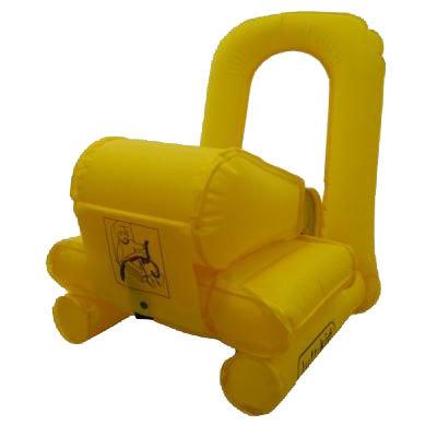 Luftikid, silla infantil para coche hinchable