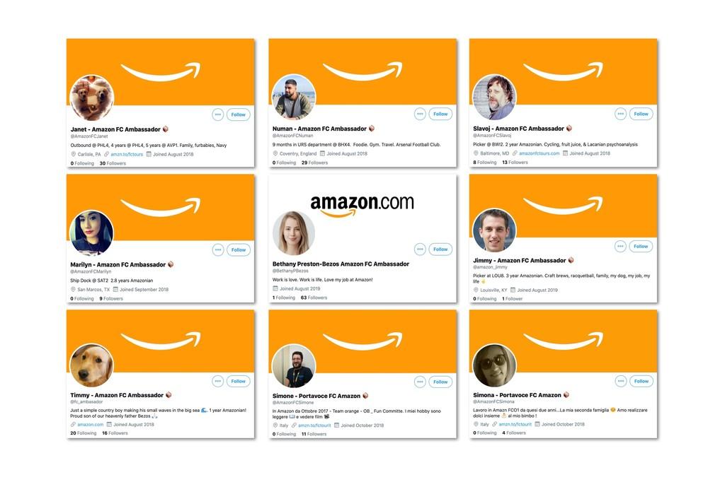 Así son los embajadores de Amazon: trabajadores a los que les dan días libres y cheques regalo a cambio de comentarios positivos