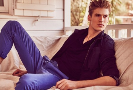 Joel Meacock Massimo Dutti June 2015 Mens Look Book 005