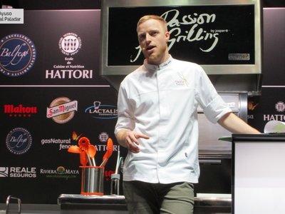 El chef que hace platos vegetarianos, amargos y con los que te quedaras con hambre (Madrid Fusión 2018 IV)