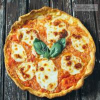 Pizza Margarita. Receta