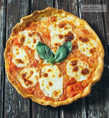 Pizza Margarita. Receta