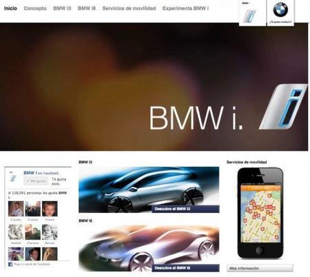 BMW i ya tiene su propia página web en español