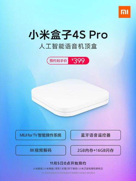 Xiaomi Mi Box 4s Precio Disponibilidad Oficial