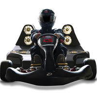 Doce ventiladores y un motor eléctrico para dar forma al kart más rápido del planeta