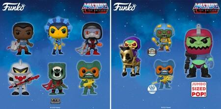 Figuras Funko POP en Amazon de He-Man: Masters of the Universe MOTU