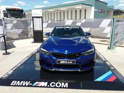 El exclusivo BMW M4 CS será el BMW M Award 2017 en MotoGP