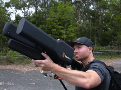 Con es te fusil podrás cazar drones con mucha facilidad