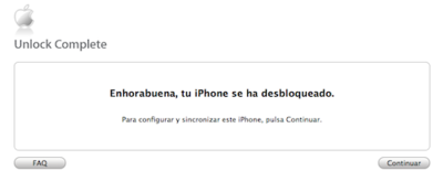 Liberando un iPhone de Movistar legalmente