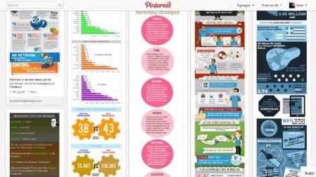 Pinterest, selecciones basadas en imágenes