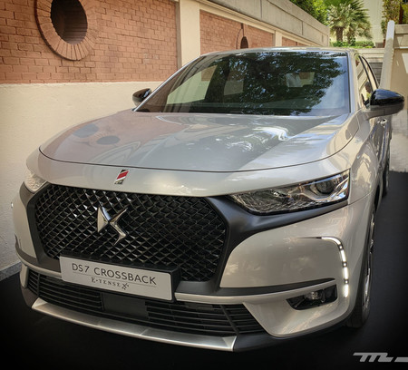 DS 7 Crossback E-Tense frontal