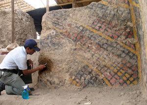 Ruinas milenarias en el norte de Perú