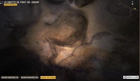 Visita virtual de la Gruta de Font-de-Gaume
