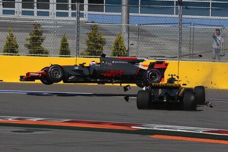 Haas Renault Sochi F1