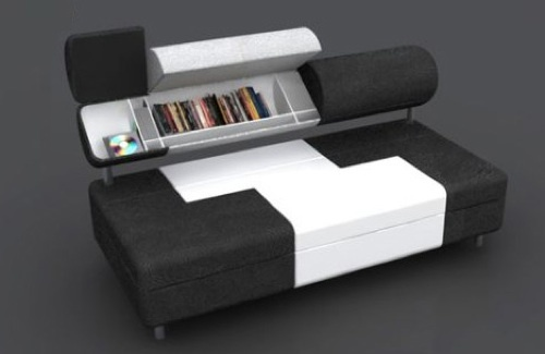 Foto de Safo, un sofá con espacio de almacenaje (1/3)