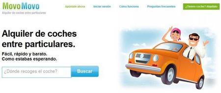 MovoMovo: alquiler de coches entre particulares