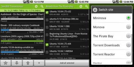 TransDroid, Torrents en tu móvil Android