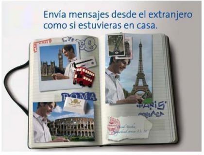 Envía mensajes desde el extranjero por 15 céntimos, con Movistar