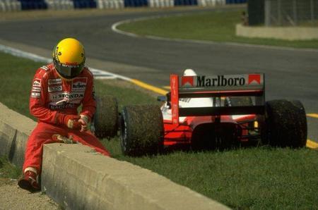 Ayrton Senna. 10 minutos para 70 adelantamientos