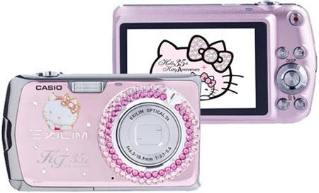 Casio Exilim EX-Z2 edición especial Hello Kitty: ideal para niñas