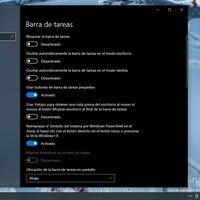 """En futuras versiones de Windows podremos personalizar la """"Barra de Tareas"""" desde la configuración del sistema"""