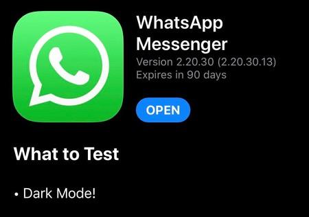 Whatsapp Modo Oscuro Iphone