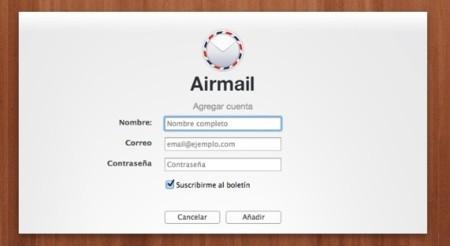 airmail configuracion