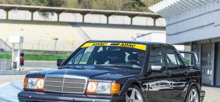 Este Mercedes-Benz 190 E 2.5-16 Evo II de Grupo A es una copia del original... ¡para circuito!