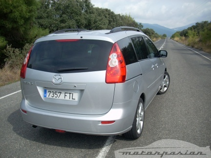 Prueba: Mazda5 CRTD (parte 4)