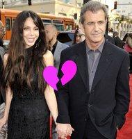 ¡Mel Gibson y Oksana Grigorieva han roto!