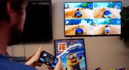 Así es como tu móvil se convertirá en el mando para videojuegos de Android TV
