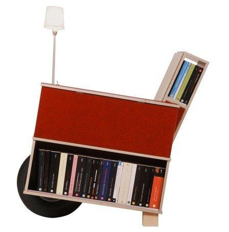 Otro rincón de lectura, compacto y móvil