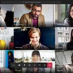 Microsoft Teams ya permite celebrar videollamadas con hasta nueve participante de forma simultánea