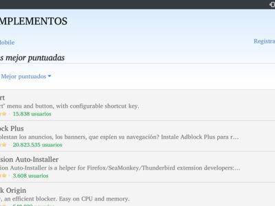 Las extensiones no son sólo cosa de tu PC, así de fácil es instalarlas en Firefox para Android