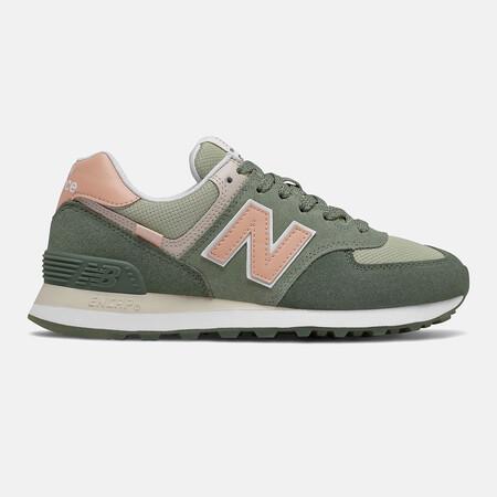 New Balance 574 Verdes