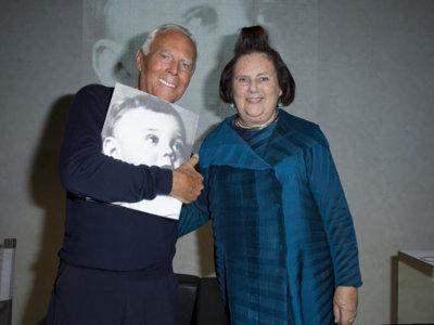 Armani escribe su autobiografía con la ayuda de Suzy Menkes