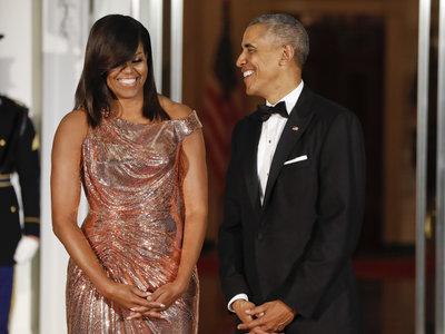 23 imágenes de amor y lujo (pero más de amor) para decir adiós al matrimonio Obama