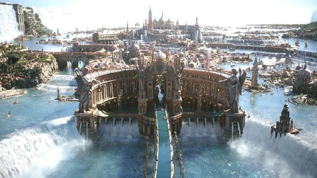 Final Fantasy Xv Altissia