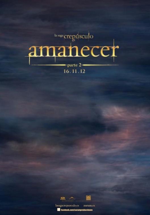 Foto de 'La Saga Crepúsculo: Amanecer. Parte 2', carteles de la entrega final (2/10)