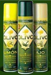 Olivo, aceite de oliva en spray