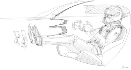 Ford Gt 2016 Sketch