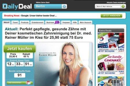 Google compra DailyDeal, clon alemán de Groupon: preparando Google Offers para Europa