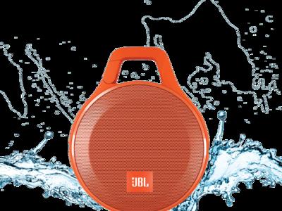 JBL Clip+, un altavoz portátil resistente a salpicaduras, ahora por 29,90 euros y envío gratis