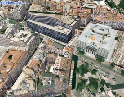 Ciudad en 3D: ahora también Madrid