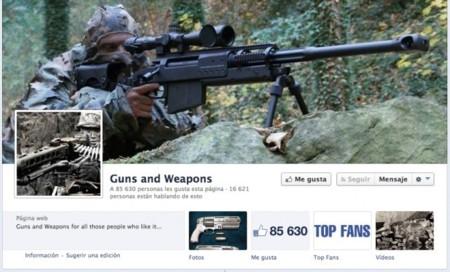 Facebook regula el comercio de armas