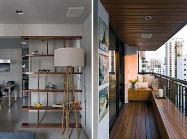 Puertas abiertas: un loft en Brasil diseñado por Diego Revollo